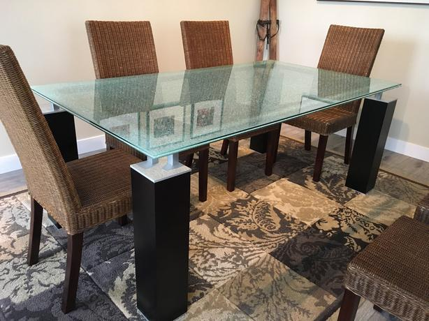 MUST SELL - Dining Table with 8 Chairs