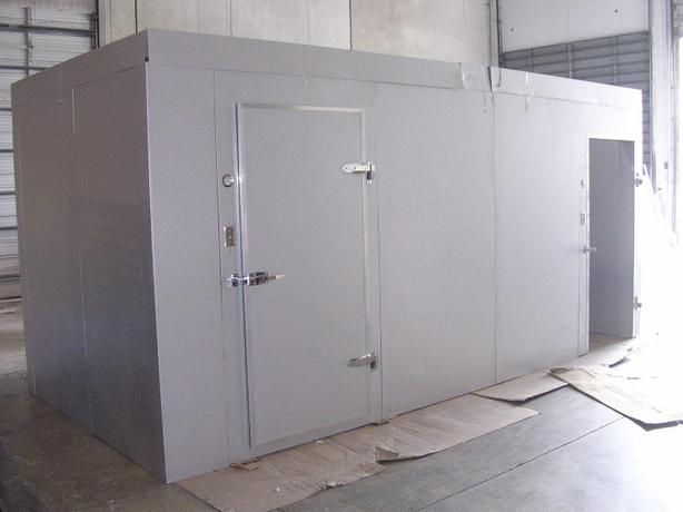 Used 8'x 8'x 8' Walk-in Cooler
