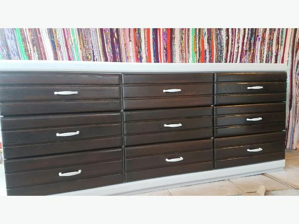 Refinished 9 Drawer Dresser
