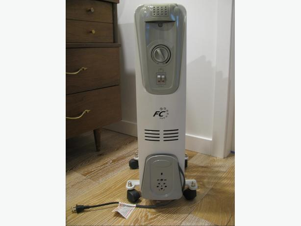 Portable Electric Oil-Filled Radiator Heater