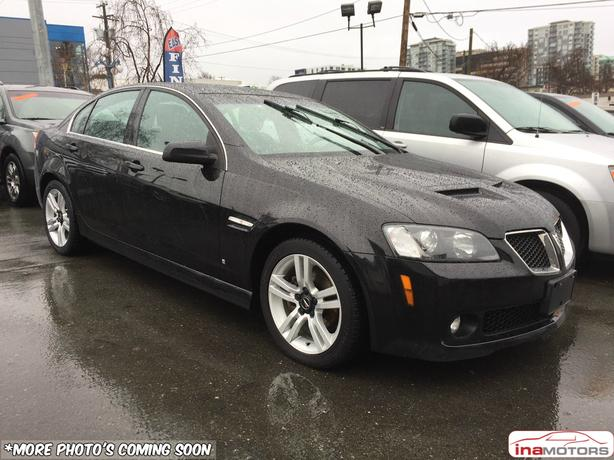 2009 Pontiac G8 - LOCAL BC VEHICLE!