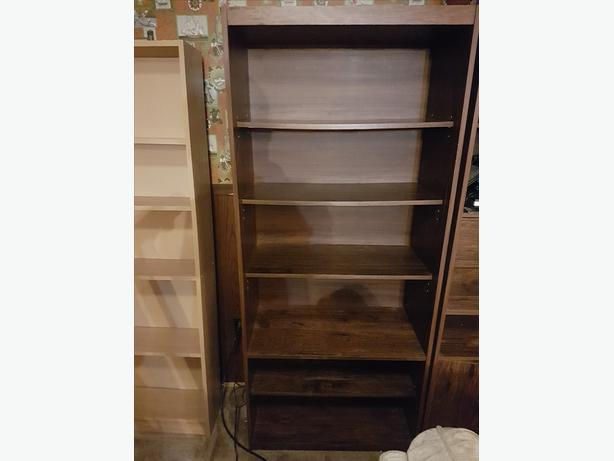 Adjustable solid wood bookcase/bookshelf, excellent condition