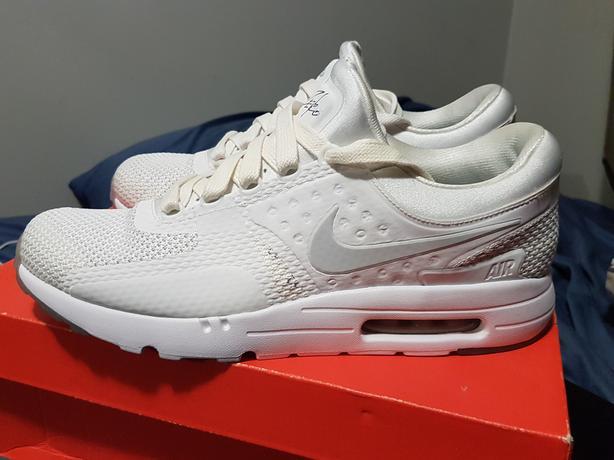 new arrivals 567e2 66f08 Nike Air Max Zero All White Colorway Size 10.5 Victoria City ...