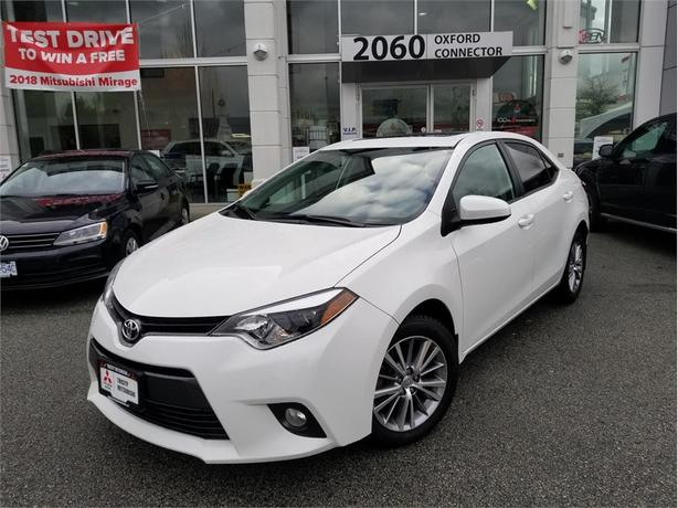 2015 Toyota Corolla LE SUNROOF, BACK UP CAMERA, HEATED SEATS