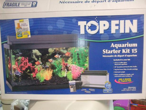 Top Fin 15 Gallon Aquarium Starter Kit