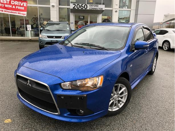 2015 Mitsubishi Lancer SE LIMITED WITH HEATED SEATS, SUNROOF, BLUETOOTH