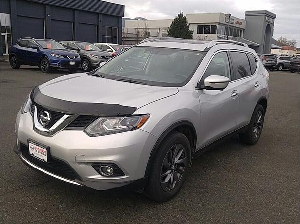 2016 Nissan Rogue SL Premium Certified Pre Owned BC No decs
