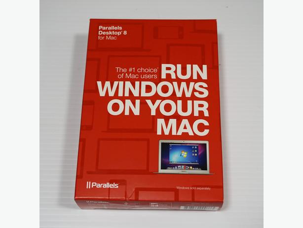 """Parallels"" Desktop 8, for Mac – Sealed in Retail Package"