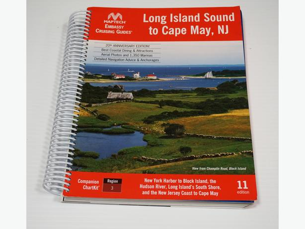 """""""Long Island Sound, NY to Cape May, NJ"""" – Nautical Maps and Guide"""