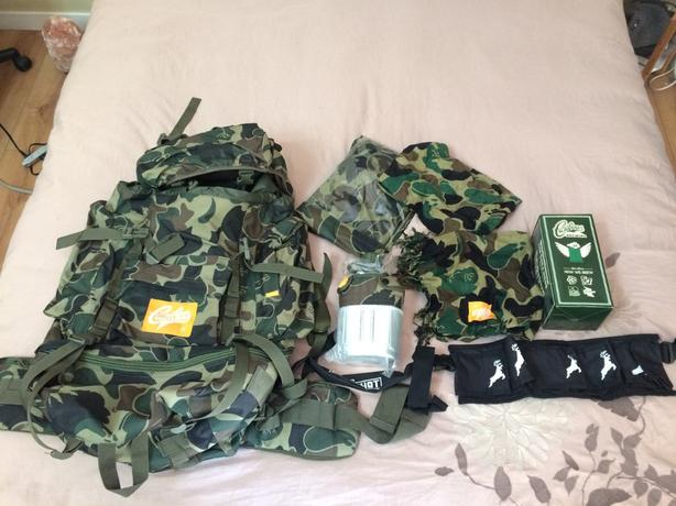Brand new outdoor backpack and accessories!