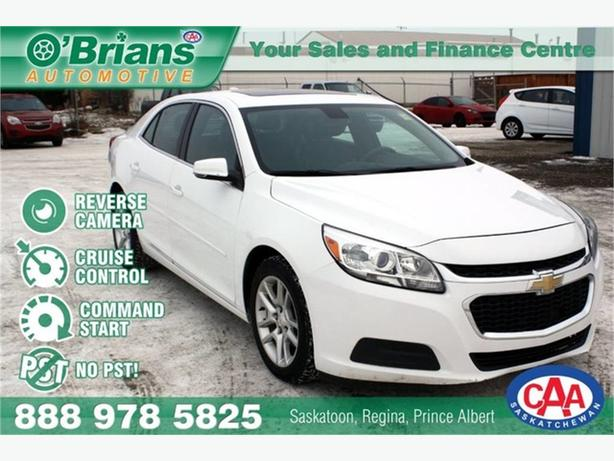 2015 Chevrolet Malibu LT - No PST w/Command Start