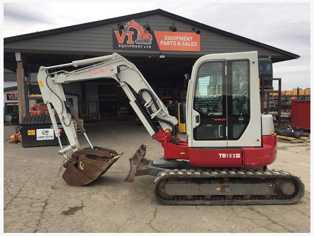 Takeuchi TB153FR Excavator