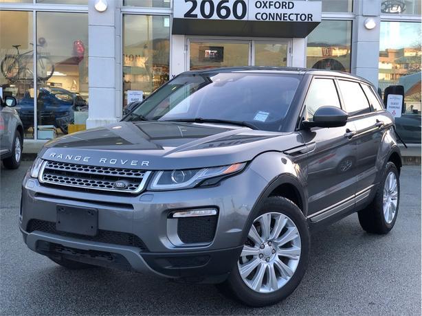 2017 Land Rover Range Rover Evoque SE, PANORAMIC ROOF, HEATED STEERING WHEEL