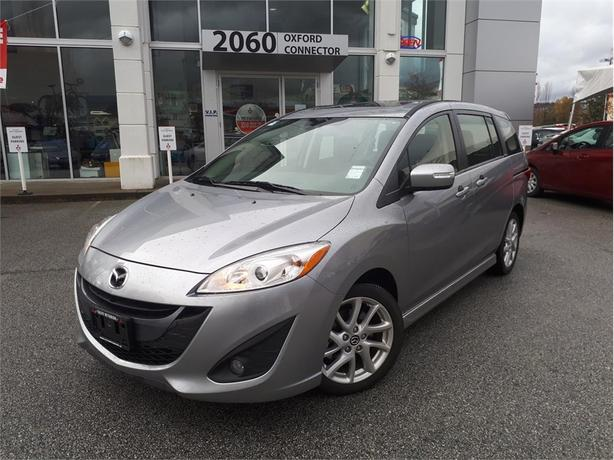 2017 Mazda Mazda5 GT, LEATHER HEATED SEATS, ALLOY WHEELS, BLUE TOOTH