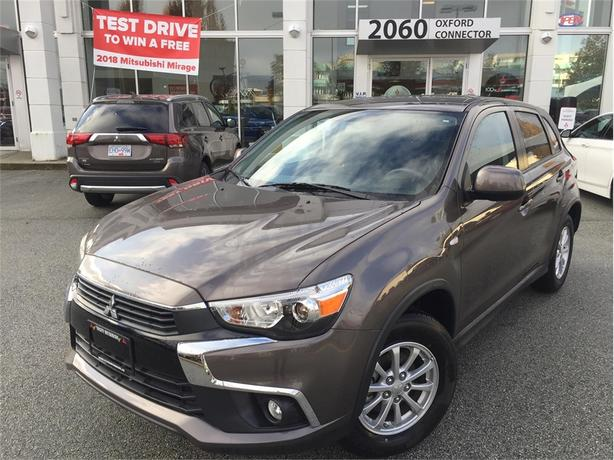 2017 Mitsubishi RVR SE, LOW KMS, AWC, HEATED SEATS, EXCELLENT FUEL ECONOMY