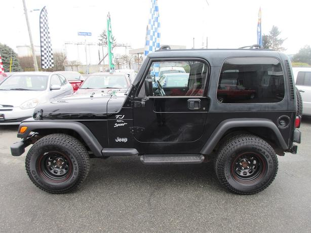 ON SALE! 1999 JEEP TJ WRANGLER SPORT 4.0 I6-NEW TIRES! LOW KMS!