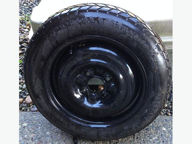FREE: Spare Tire and Jack (Mazda Axess)