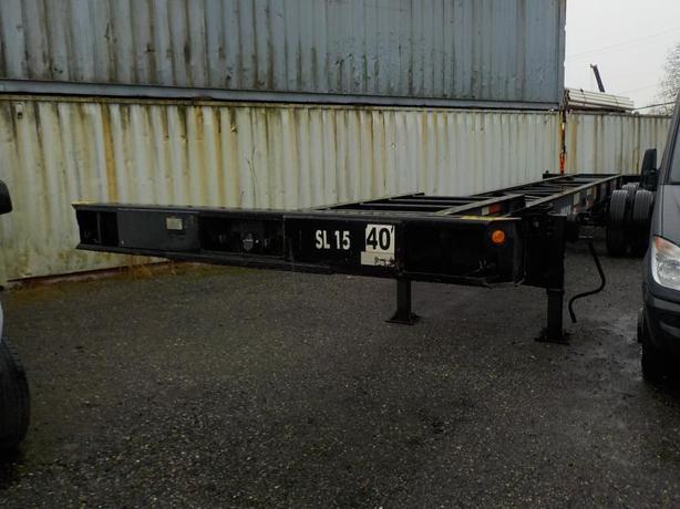 2007 Singamas Sgc 40txf 40 Foot Highway Tractor Flatdeck Chassis Trailer