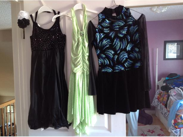 Each. Adult Medium dance dresses