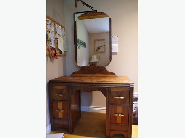 Art Deco Style Antique Vanity Desk