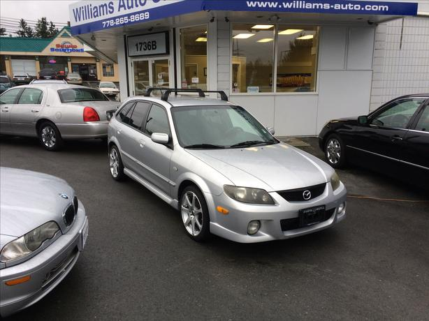 2003 Mazda Protege 5 SE Wagon 217k Williams Colwood New Location