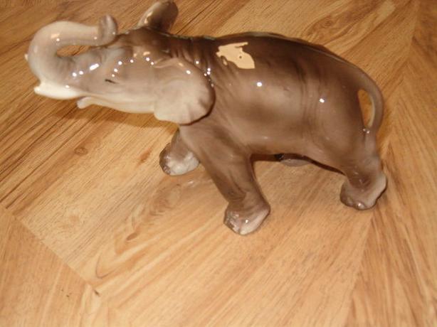 elephant figurine,vintage unique rare ,