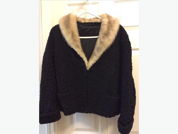 Vintage Persian Wool Jacket