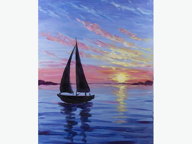 Paint Nite for South Cowichan Community Policing Feb 21 @ 7pm
