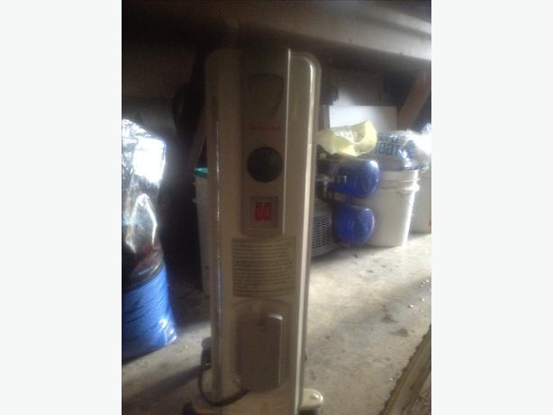 Honeywell oil portable heater