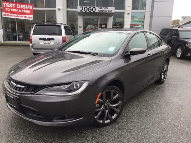 2015 Chrysler 200 S NAVIGATION, BACK UP CAMERA, HEATED SEATS