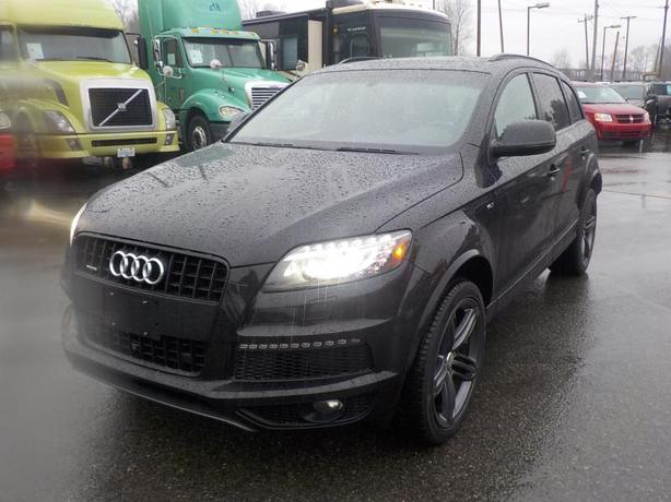 2014 Audi Q7 3.0T Sport  Quattro  3rd row seating