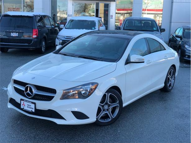 2016 Mercedes-Benz CLA250 250, LEATHER INTERIOR, SUNROOF, BACK UP CAMERA