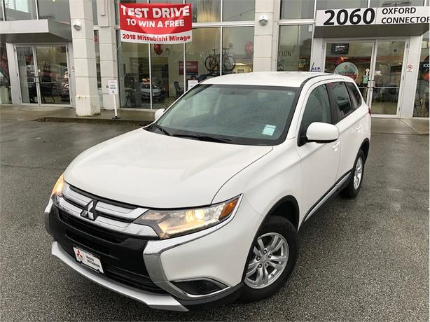2016 Mitsubishi Outlander ES AWC, HEATED SEATS, BACK UP CAMERA