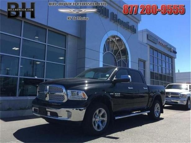 2017 Ram 1500 Laramie - Sunroof - Remote Start  - $313.49 B/W