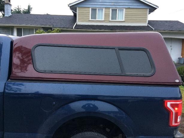 truck canopy 83 long 70 wide
