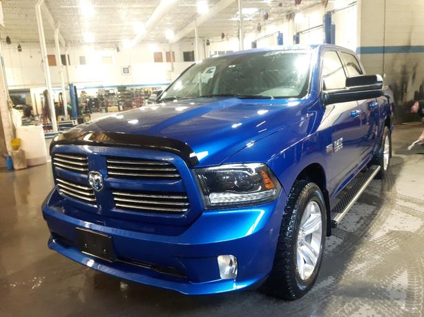 USED 2015 RAM 1500 SPORT 4x4 FOR SALE IN PARKSVILLE