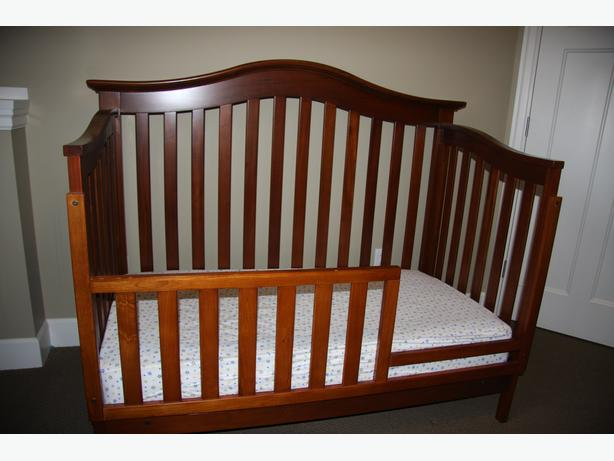 Crib, toddler bed combination