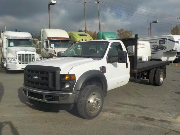 2008 Ford F-550 Regular Cab 14 Foot Flatdeck Dually Diesel 4WD