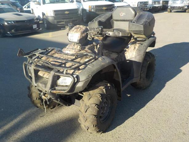 2012 Honda Rubicon Trail Edition 4WD ATV