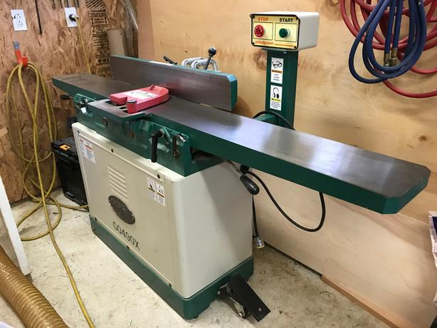Log In Needed 1 400 Grizzly 0490x 8 Jointer With Spiral Cutterhead