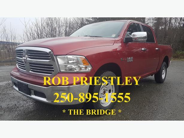2015 RAM 1500 CREW CAB SLT 4X4 * ECO DIESEL * THE BRIDGE *