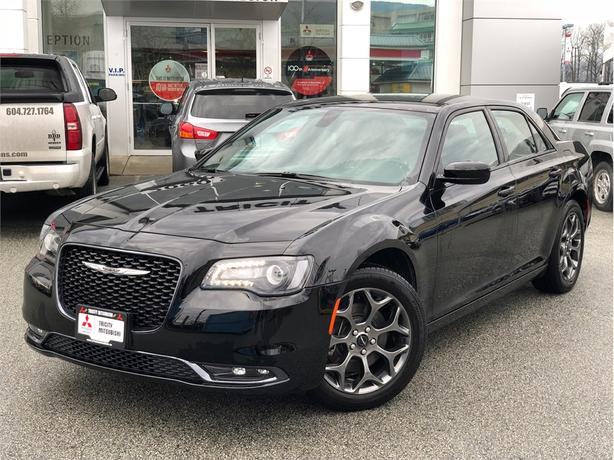 2017 Chrysler 300 S, LEATHER, BACKUP CAMERA