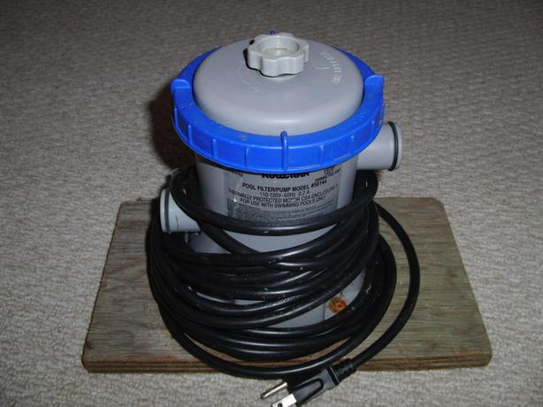 "Small ""FlowClear"" Pool Pump"