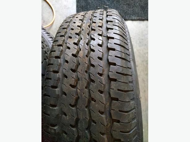Like New Trailer Tires