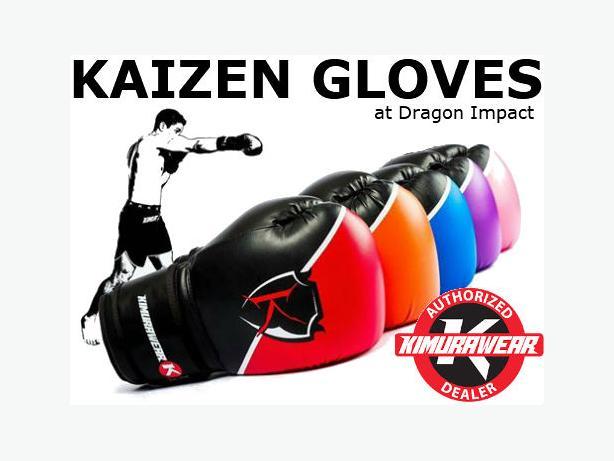 Kaizen Boxing Gloves in 10oz, 12oz, 14oz and 16oz