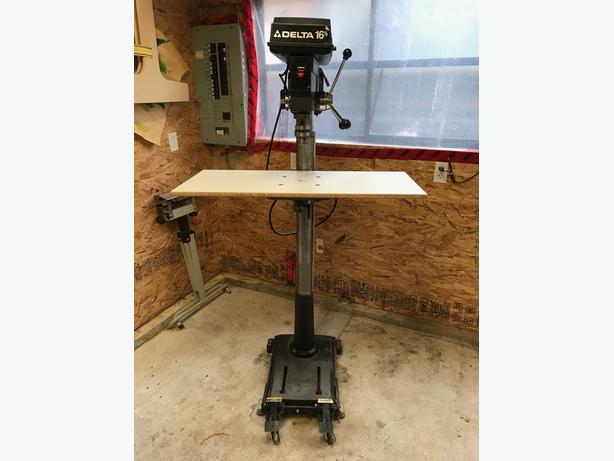 Log In Needed 400 Heavy Duty Delta Floor Drill Press W Mobile Base