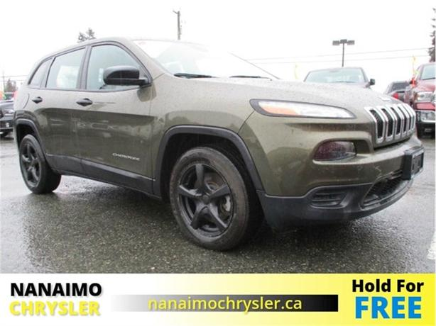 2015 Jeep Cherokee Sport Low Kilometers BlueTooth