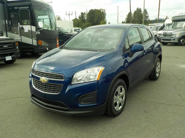 2013 Chevrolet Trax LS Manual Turbo