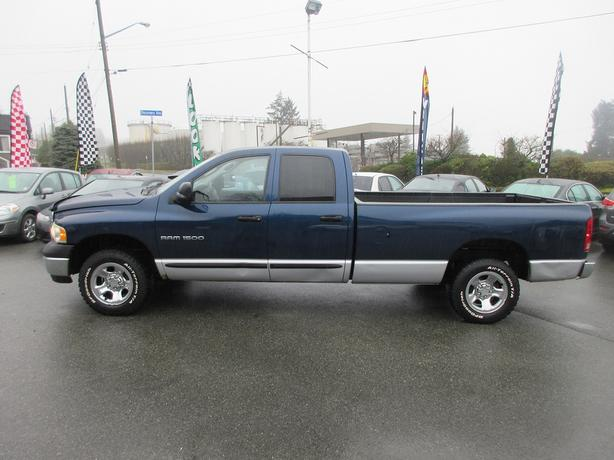 ON SALE! 2004 DODGE RAM 1500 4WD LONGBOX 4.7L V8-BC ONLY! NO DECS!