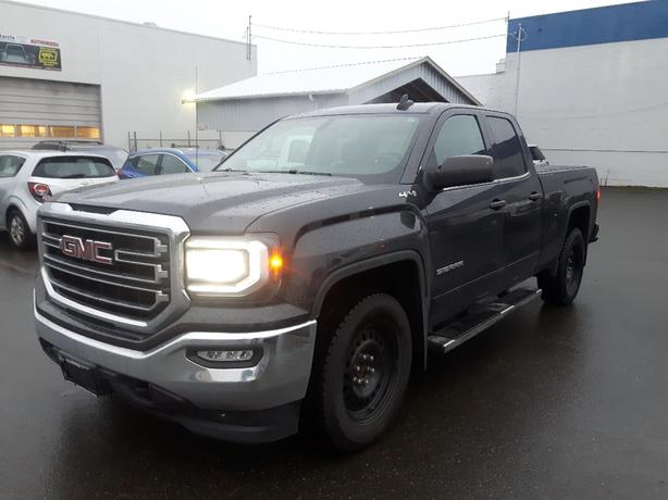 USED 2016 GMC SIERRA 1500 DOUBLE CAB 4X4 FOR SALE IN PARKSVILLE